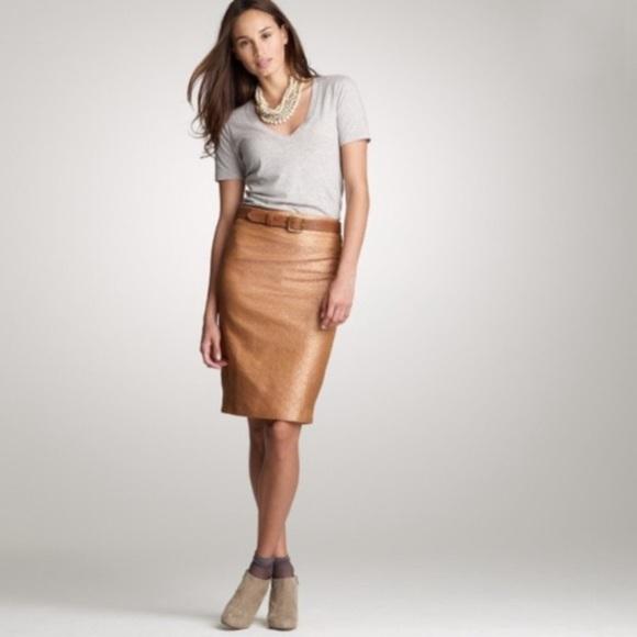 J. Crew Dresses & Skirts - J. Crew Jacquard Pencil Skirt *Holiday*